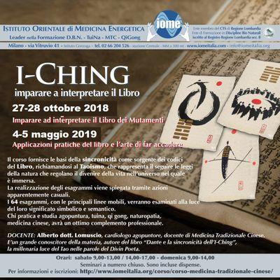 corso i-Ching, I-king. iome scuola tuina, qigong corsi, medicina tradizionale cinese