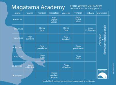 Magatama Orario Yoga