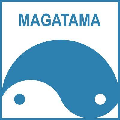 logo MAGATAMA colorato