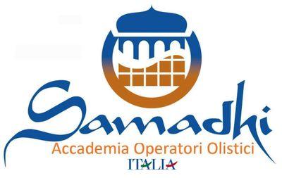 samadhi Accademia ITALIA logo BLU